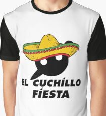 El Cuchillo Fiesta Knife Party Graphic T-Shirt