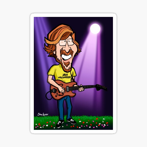 Trey Anastasio (Phish) Sticker