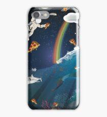 Intergalactic Undersea Pizza Party iPhone Case/Skin