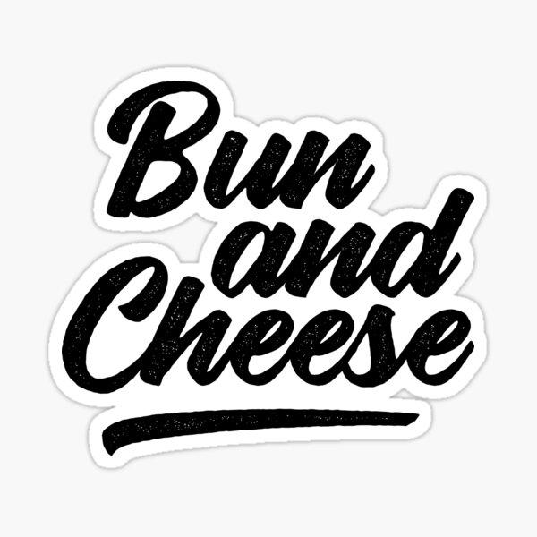 Caribbean Food Bun and Cheese Sticker
