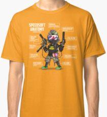 SPEEDSOFT ANATOMY TAPP TEE (White writing) Classic T-Shirt