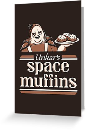 Space Muffins by DoodleDojo