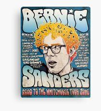 Bernie Sanders Road To The Whitehouse Tour 2016 Metal Print