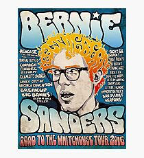 Lámina fotográfica Bernie Sanders Road to The Whitehouse Tour 2016