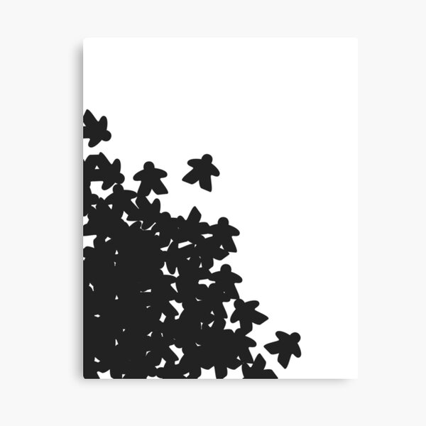 Meeple Avalanche Canvas Print