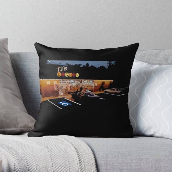 Fogell in Wonderland Throw Pillow
