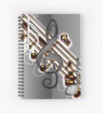 G Key Spiral Notebook