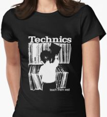 technics 1 Women's Fitted T-Shirt