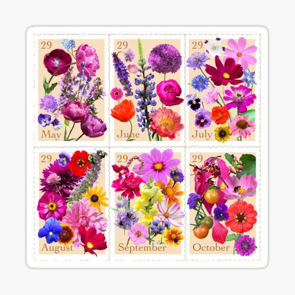 Letters from my Garden Sticker