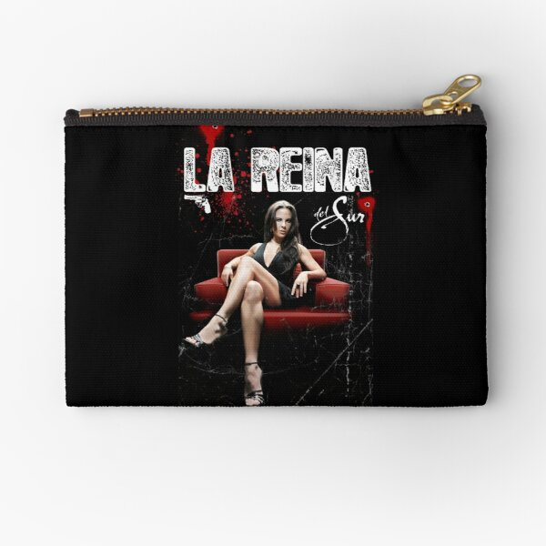 The Queen of the South Zipper Pouch