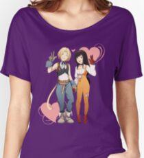 Gidan and Garnet Final Fantasy IX Women's Relaxed Fit T-Shirt
