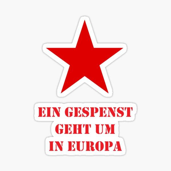 Roter Stern 1848 Sticker