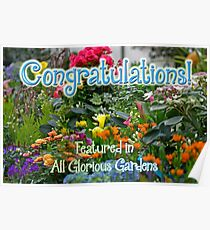 NOT FOR SALE - Featured Banner for All Glorious Gardens Group Poster