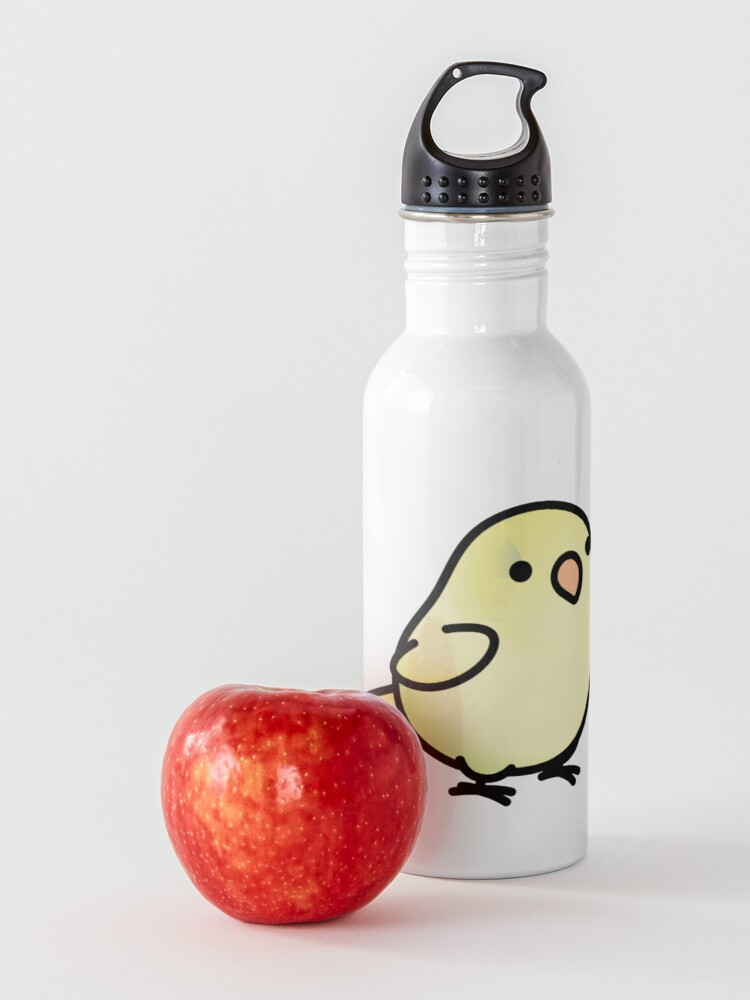 Alternate view of Chubby Light Yellow Lutino Parrotlet Water Bottle