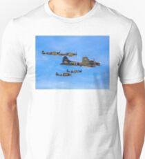 5-ship Warbirds Formation Unisex T-Shirt
