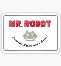 Mr Robot Sticker