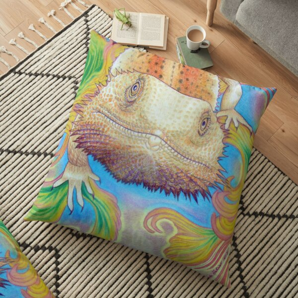 Celestial Dragon  Floor Pillow