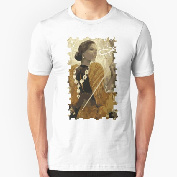 Josephine Tarot Card Slim Fit T-Shirt
