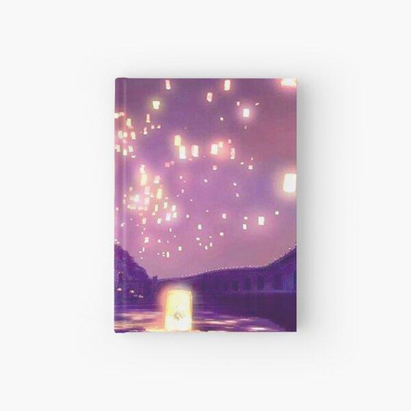 Glowing Castle Print Hardcover Journal