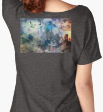 Can't Find My Way Home (image, poem & music) Women's Relaxed Fit T-Shirt