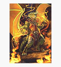 Argonian Flames Photographic Print