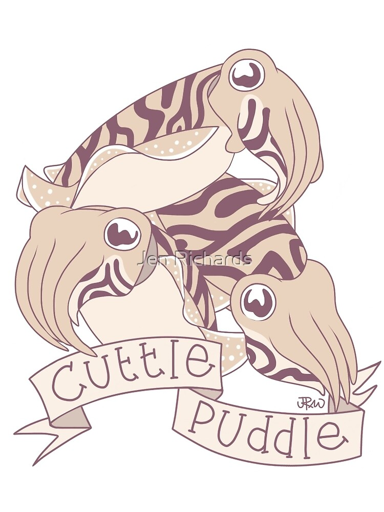 Cuttle puddle by Jen Richards