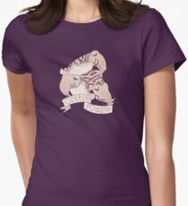 Cuttle puddle Womens Fitted T-Shirt