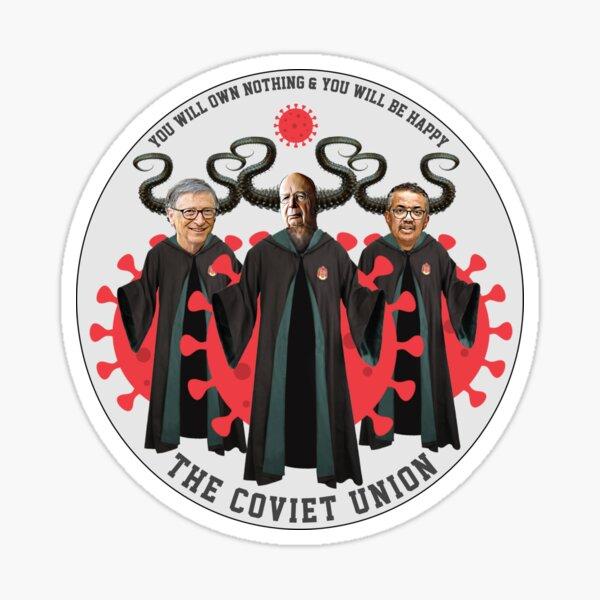The Coviet Union Triple Play Demon Logo Sticker