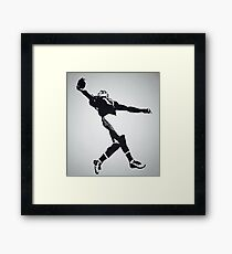 The Catch - Odell Beckham Jr Framed Print