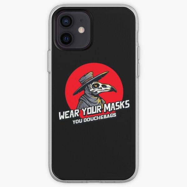 Plague Doc - Douchebags iPhone Soft Case