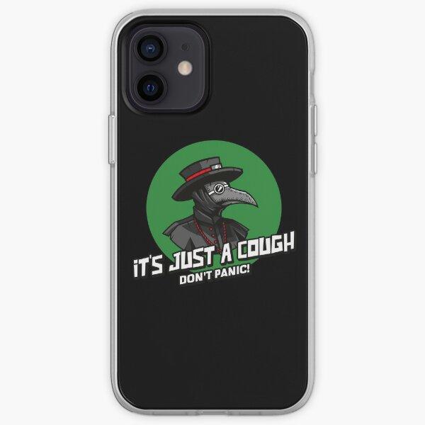 Plague Doc - It's Just a Cough! iPhone Soft Case