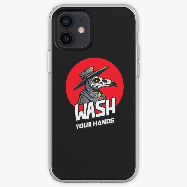 Plague Doc - Wash Your Hands! iPhone Soft Case