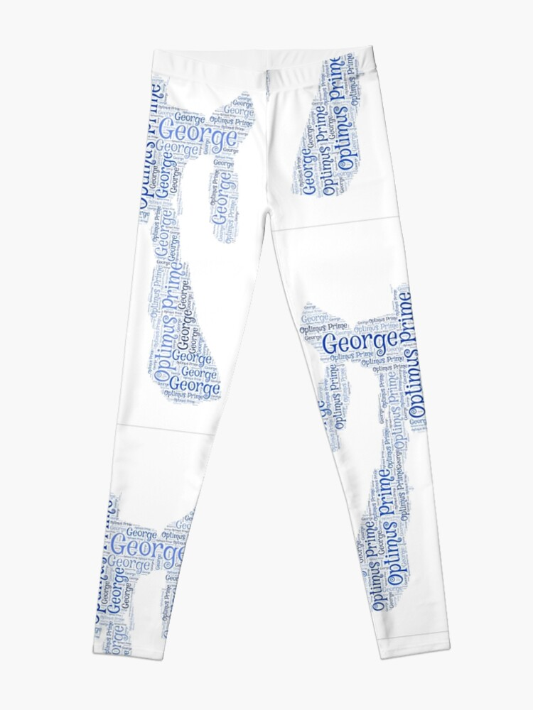 b3ab18b6d Transformers 'Optimus Prime' Word Art - 'George' | Leggings