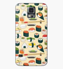 Sushi Seamless Background Case/Skin for Samsung Galaxy