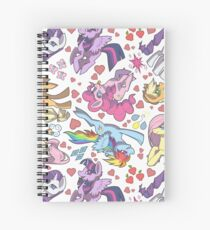 My Little Pony - Tile Spiral Notebook