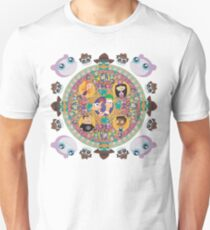 Phineas and Ferb Mandala Unisex T-Shirt