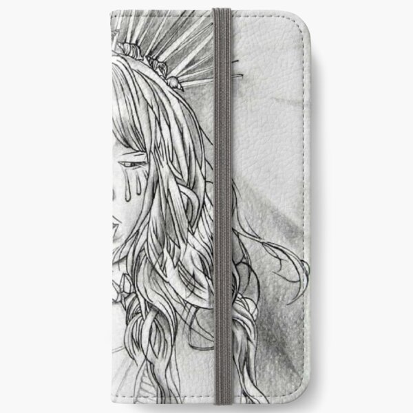 Crying girl iPhone Wallet