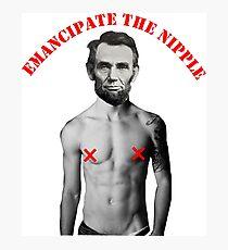 Emancipate the Nipple Photographic Print