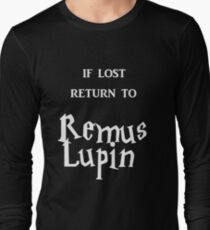 If Lost Return to Remus Lupin  Long Sleeve T-Shirt