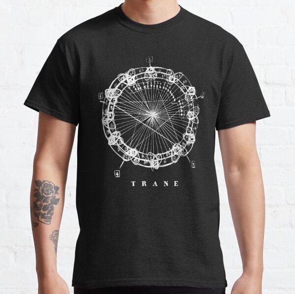 Coltrane Chord Changes Mandala (light design) Classic T-Shirt