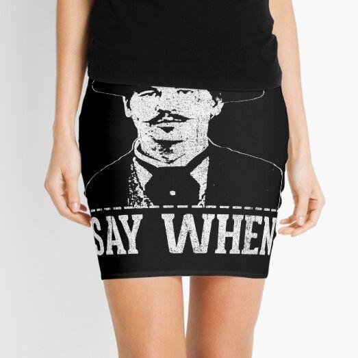 Say When Mini Skirt