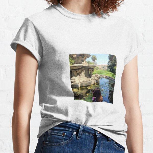 A Fountain in the Garden Classic T-Shirt