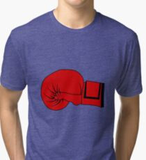 Boxing Glove Tri-blend T-Shirt