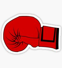 Boxing Glove Sticker