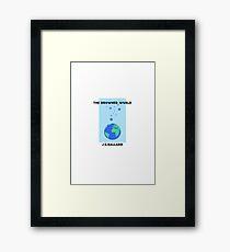 The Drowned World - J.G.Ballard Framed Print