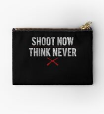 Ash Vs. Evil Dead - Shoot Now, Think Never - White Dirty Studio Pouch