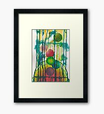 sphere's bridge Framed Print