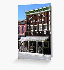 Silver Dollar Saloon, Leadville, Colorado Greeting Card