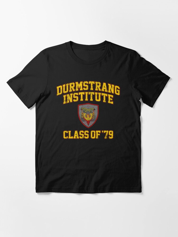 Durmstrang Institute Class Of 79 T Shirt By Huckblade Redbubble Durmstrang institute is a wizarding academy, similar to hogwarts school, believed to be located somewhere in western russia or northern europe. durmstrang institute class of 79 t shirt by huckblade redbubble