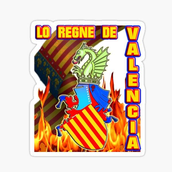 """TXUS BIXQUERT DISEÑO: """"Lo Regne de Valencia"""" (2020) © http://www.txusbixquert.com Pegatina"""